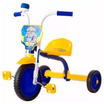 Triciclo infantil pro tork ultra bike top boy jr azul e amarelo -