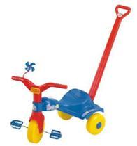 Triciclo Infantil Tico Tico Popó com Haste - Magic Toys -