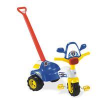 Triciclo infantil ticotico policia c/ haste - Magic Toys