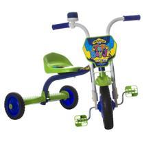 Triciclo Infantil Top Boy Jr Azul E Verde Pro Tork Ultra - Ultra Bikes
