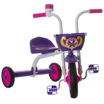 Triciclo Infantil Top Girl Branco E Roxo Pro Tork Ultra - Ultra bikes