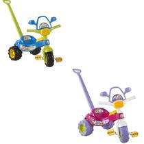 Triciclo infantil  Turma Da Mônica  e Cebolinha - Magic Toys