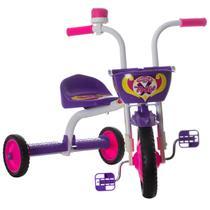 Triciclo Infantil Ultra Bikes Top Girl Branco e Roxo -