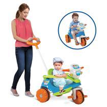 Triciclo Infantil Velobaby - Passeio e Pedal - Bandeirante -