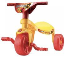 Triciclo Infantil Velotrol Tchuco Implacáveis - Menino - Samba Toys -