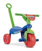 Triciclo Infantil Velotrol Tchuco SB Herois Motoca C/ Haste - Samba Toys
