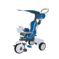 Triciclo Infantil Xalingo Comfort Ride Top Empurrador Azul E Branco -