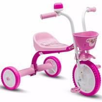 Triciclo Infantil You Girl Rosa - Nathor -