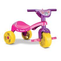 Triciclo Motoca Infantil Menina Rosa Princesa - Samba Toys -