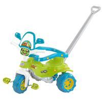 Triciclo Motoca Infantil Tico Tico Dino Verde Magic Toys -