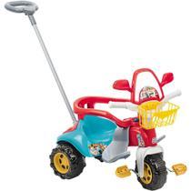 Triciclo Motoca Infantil Tico Tico Magic Toys Menino Azul 2710 - Magic Toys -