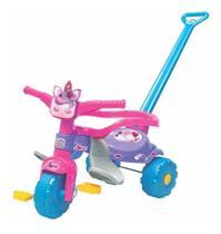 Triciclo Motoca Infantil Unicornio  Rosa Magic Toys 2570 -