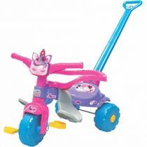 Triciclo Motoca Infantil Unilove Unicórnio Motinha Com Luz Para Criança Passeio Familia - Magic Toys