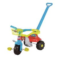 Triciclo Motoca Smart Super Festa Azul 2560 Com Cestinha Magic Toys
