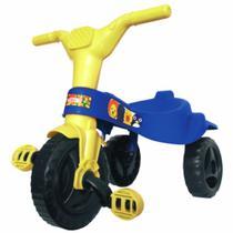 Triciclo Motoca Velotrol Tico Tico Infantil Azul Omotcha -