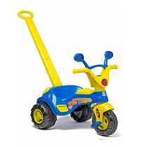 Triciclo Motoquinha Velotrol Infantil C Som E Haste Cotiplás -
