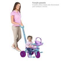 Triciclo Mototico Frozen II Passeio & Pedal - Disney- Bandeirante BANDEIRANTE -