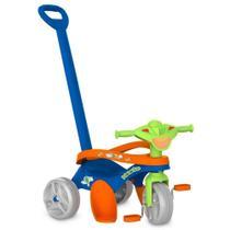 Triciclo Mototico Passeio e Pedal Azul Bandeirante - Bandeirantes