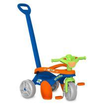 Triciclo Mototico Passeio e Pedal Cor Azul - Bandeirante 692 -