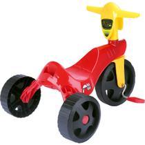 Triciclo New Speed Vermelho - Homeplay -