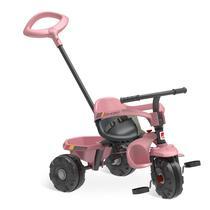 Triciclo smart plus rosa - bandeirante -