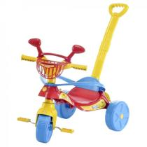 Triciclo Smile Confort Vermelho com Empurrador - Biemme -