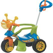 Triciclo Super CROSS AZUL - Biemme