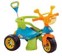 Triciclo Super Cross Azul com Empurrador Biemme -