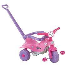 Triciclo Tico Tico Pets Rosa Motoca Infantil Magic Toys 2811 -