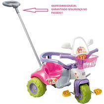 Triciclo tico tico zoom meg com aro - Magic toys