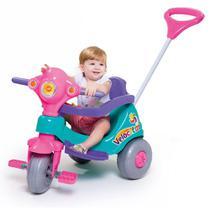 Triciclo Velocita Rosa Motoca Infantil Tico Tico Velotrol - Calesita