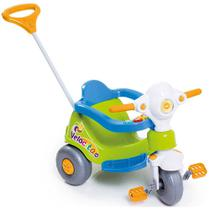 Triciclo Velocita Verde e Azul Motoca Infantil Tico Velotrol - Calesita