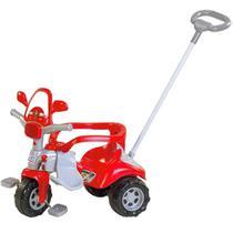 Triciclo velotrol infantil bombeiro c/ som e luz e proteção - Magic Toys