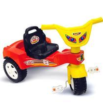 Triciclo Velotrol Infantil Stilo Red Até 6 Anos - Kepler Brinquedos -