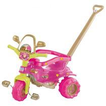 Triciclo Velotrol Motoca Tico Tico Dino Pink - Magic Toys -