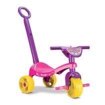 Triciclo Velotrol Princesa Motoca Velocípede Tchuco p/ Menina - Samba Toys