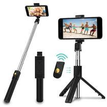 Tripé bastão selfie 3 em 1 Suporte profissional multi funcional Bluetooth suporte celular iphone android  home office - VISION