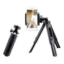 Tripé Inquebrável Regulável - Câmeras e Smartphones- Vertical/Horizontal 27cm - Xt