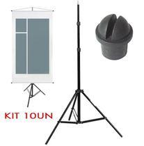 Tripé Porta Banner - LS04 - 2,00m Kit 10 Unidades - Leadwin