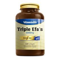 Triple Efa's - Omega 369 1000Mg - 60 caps  - Vitaminlife -