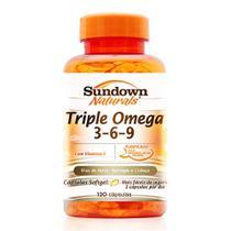 Triple Ômega 3-6-9 120 cápsulas Sundown -