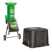 Triturador de resíduos TR200 + Caixa de Compostagem 435 L Trapp -