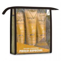 Trivitt Itallian Kit Manutenção Home Care Com Leave-in -
