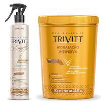 Trivitt Mascara Hidr Intensiva 1kg + O Segredo Do Cabeleireiro - Itallian