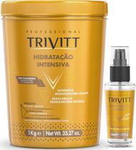 Trivitt Máscara Hidrat Intensiva 1kg+ Reparador Pontas 30ml - Itallian