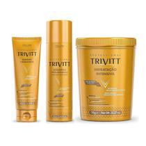 Trivitt Shampoo 1L + Mascara 1kg + Leave-in 250 ml -
