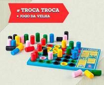 Troca Troca + Jogo da Velha - Hergg