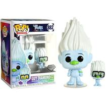 Trolls Tour Mundial Boneco Pop Funko Diamante 882 Trolls World Tour