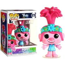 Trolls Tour Mundial Boneco Pop Funko Poppy 878 Trolls World Tour