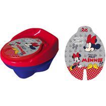 Troninho Disney Minnie Infantil Pinico Para Bebe 2 Em 1 05310 - Styll Baby -